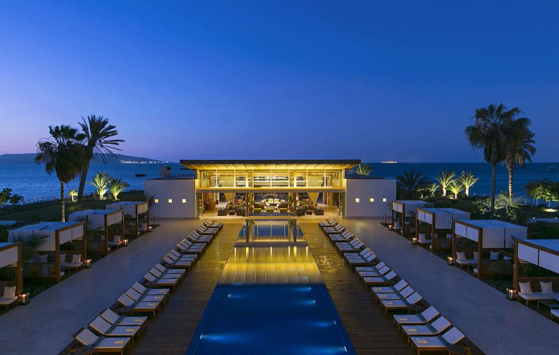 Exteriores for Hotel luxury resort paracas